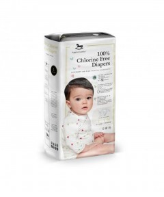 Applecrumby Chlorine Free Premium Baby Diapers (L36 x 1 Pack)