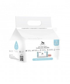 Applecrumby Pure Water Wipes - (10 Sheets X 3 Packs)