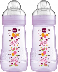 Mam 270ml Bottles - 2 Pack