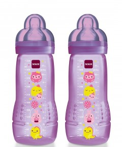 MAM 330ml Bottle - 2 Pack