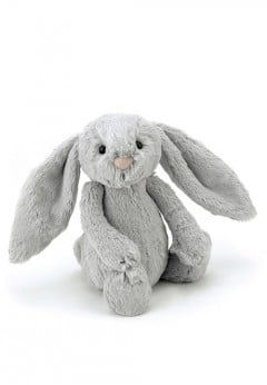 Jellycat Bashful Silver Bunny - Small
