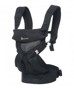 Ergobaby 360 Baby Carrier - Cool Air Mesh Onyx Black