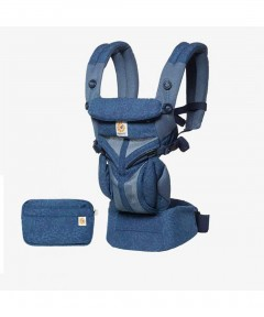 Ergobaby Omni 360 Baby Carrier - Cool Air Mesh - Blue Blooms