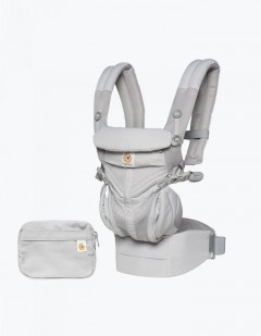 Ergobaby Omni 360 Baby Carrier - Cool Air Mesh Pearl Grey