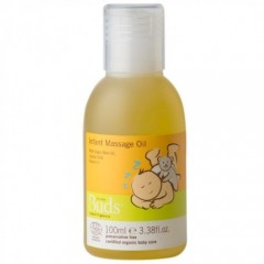 Buds Cherished Organics Infant Massage Oil - 100ml