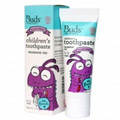 Buds Toothpaste with Flouride Blackcurrant - 50ml