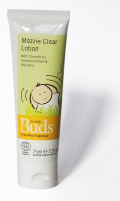 Buds Cherished Organics Mozzie Clear Lotion - 75ml