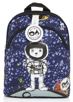 Babymel Mini Backpack & Safety Harness - Spaceman