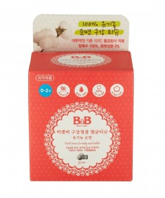 B&B Tooth Tissue For Baby & Toddler - 30Sheets