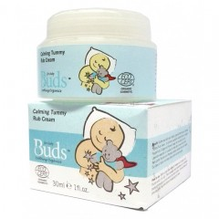 Buds Soothing Organics Calming Tummy Rub Cream - 30ml