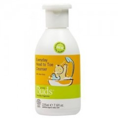 Buds Cherished Organics Everyday Head to Toe Cleanser - 225ml