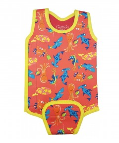 Konfidence Babywarma Baby Wetsuit Sea Friends - 6-12 months