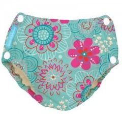 Charlie Banana Swim Diaper & Training Pants W/Snap - Floriana M