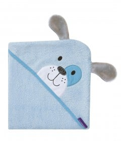 Clevamama Bamboo Hooded Towel - Blue