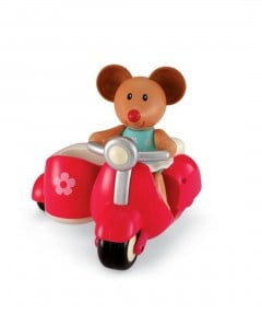 Early Learning Centre Martha Mouse And Her Scooter