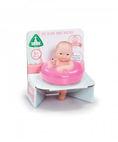 Early Learning Centre Cupcake Tiny Teenies Bath Baby Doll With Pink Ring