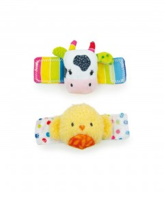 Early Learning Centre Blossom Farm Wrist Rattles