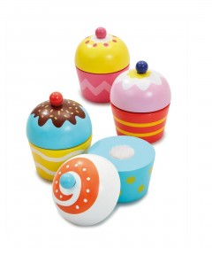 Early Learning Centre Wooden Cupcake Set