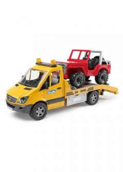 The Entertainer Bruder MB Sprinter Transporter With Cross Country Vehicle & L & S Module