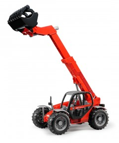 The Entertainer Bruder Manitou Telescopic Loader Mlt 633 Vehicle