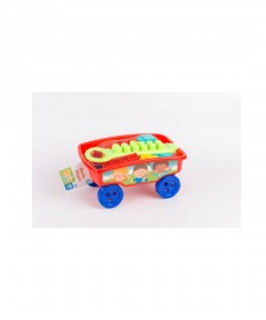 The Entertainer Build Me Up Blocks Wagon - 25 Pieces