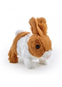 Pitter Patter Pets Teeny Weeny Bunny - Brown Bunny