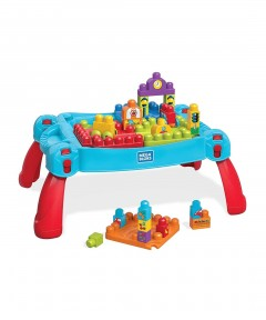 The Entertainer Mega Bloks Build And Learn Table - 30 Pieces