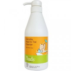 Buds Cherished Organics Everyday Head To Toe Cleanser - 425ml