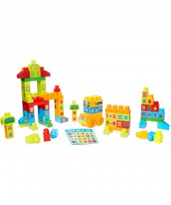 Mega Bloks Build 'N Learn Math Building Set