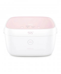 59S UVC LED Baby bottles Sterilization Box - Pink