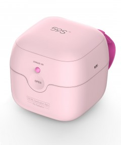 59S UVC LED Mini Sterilizer Box- Pink