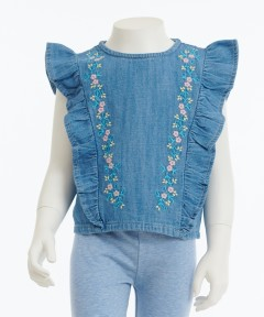 Gingersnap Frills & Embroideries Blouse