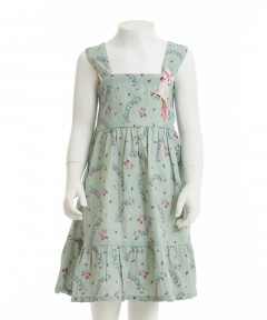 Gingersnaps Embro Badge Printed Tiered Strappy Dress