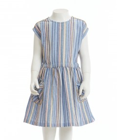 Gingersnaps Stripey Waisted Dress