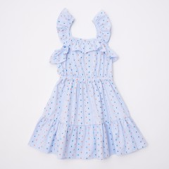 Gingersnaps Strappy & Frilly Waisted Dress