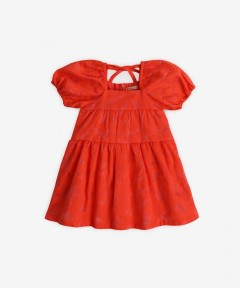 Gingersnaps Embroidered Waisted Dress