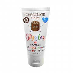 Giggles Toothpaste 50ml Chocolate Cupcake - 7yr+