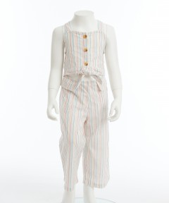 Gingersnaps Stripey Jumpsuit