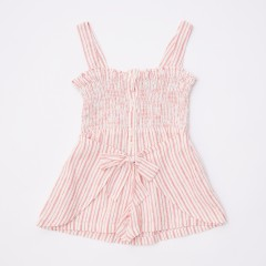 Gingersnaps Stripey Smocked Jumpsuit