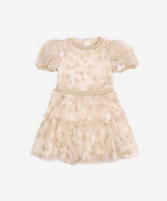 Gingersnaps Emroidered Tiered Dress