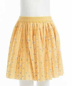 Gingersnaps Electric Pleat Ditsy Print Skirt