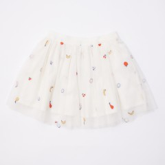Gingersnaps Embroidered Tulle Skirt