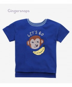 Gingersnaps Long Back Graphic Tee