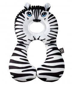 Benbat Travel Friends Headrest 1-4 Yrs - Zebra