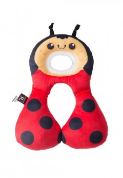 Benbat Toddler Headrest & Neck Support Pillow 1-4 years - Ladybug