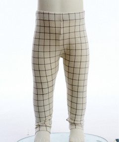 Gingersnaps Black And White Checked Leggings