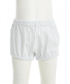Gingersnaps Tile Print Bloomers With Bow On Back Shorts