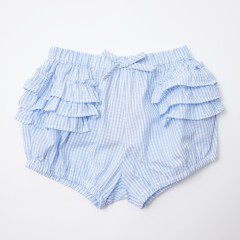 Gingersnaps Multicolor Checks Ruffles Bloomers