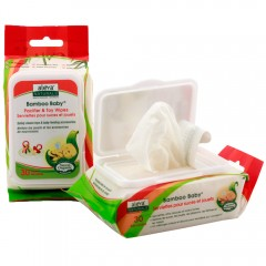 Aleva Naturals, Bamboo Baby, Pacifier & Toy Wipes, 30 Wipes
