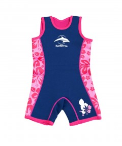 Konfidence Warma Wetsuit Pink - 2-3 Years